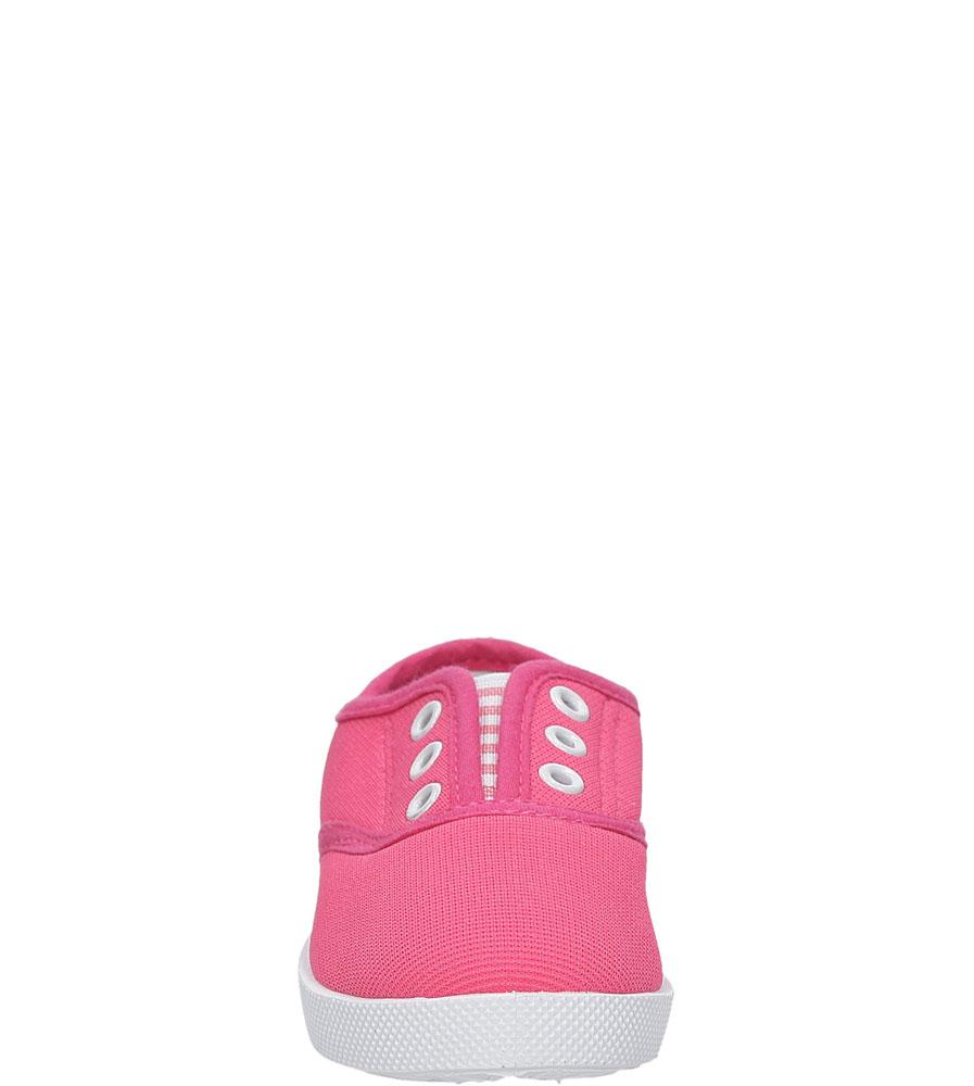Dziecięce TRAMPKI 711D różowy;;