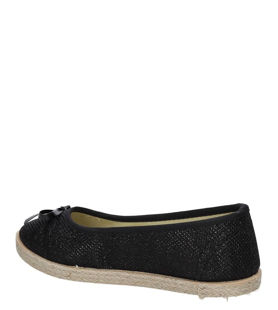 ESPADRYLE E19 kolor czarny