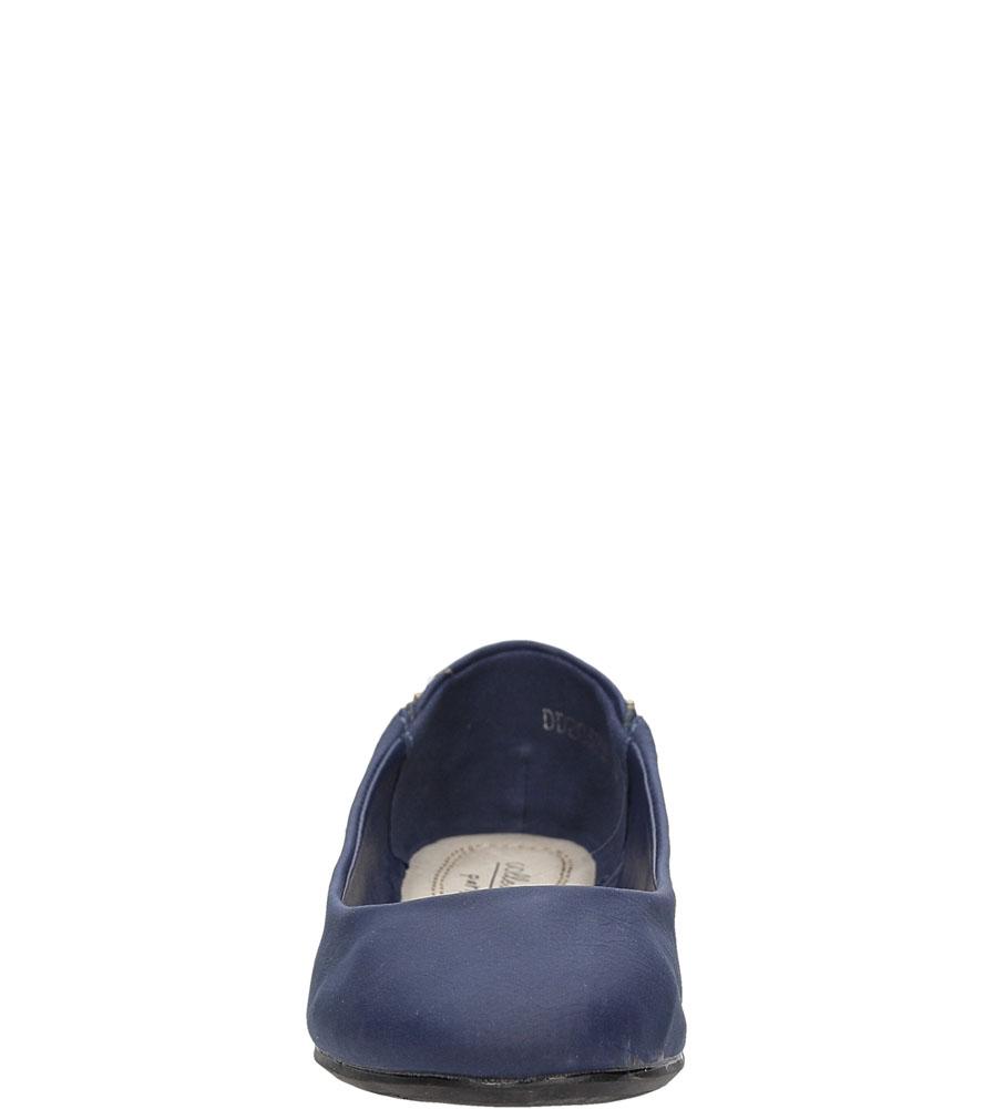 Dziecięce BALERINY DD2037B niebieski;;
