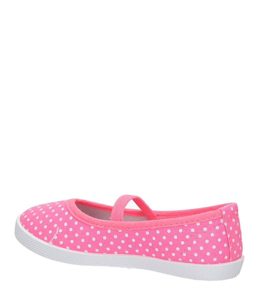 Dziecięce TRAMPKI KD1-18A różowy;biały;