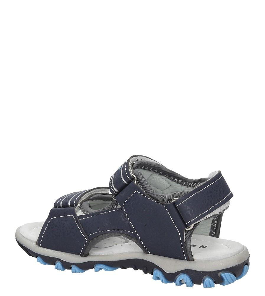 Dziecięce SANDALY B2494-22 niebieski;;
