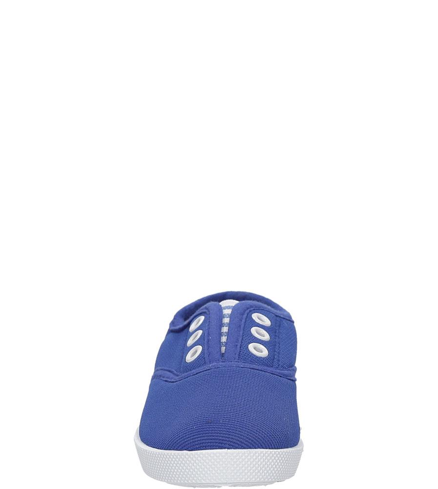 Dziecięce TRAMPKI 711D niebieski;;