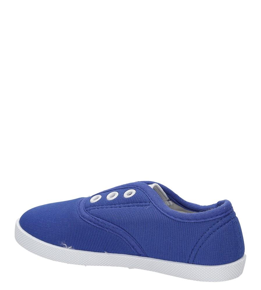 TRAMPKI 711D kolor niebieski