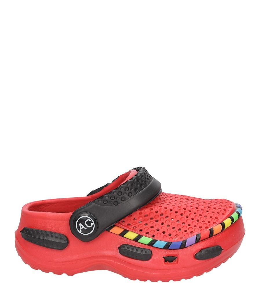 Dziecięce KLAPKI AMERICAN LC-A078003-2 czerwony;czarny;