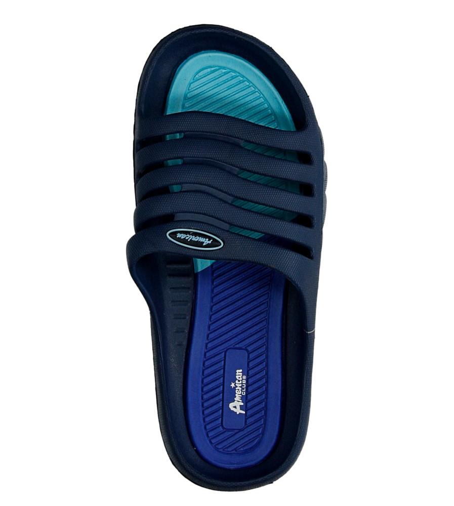 Męskie KLAPKI AMERICAN A083-140627-1 niebieski;niebieski;