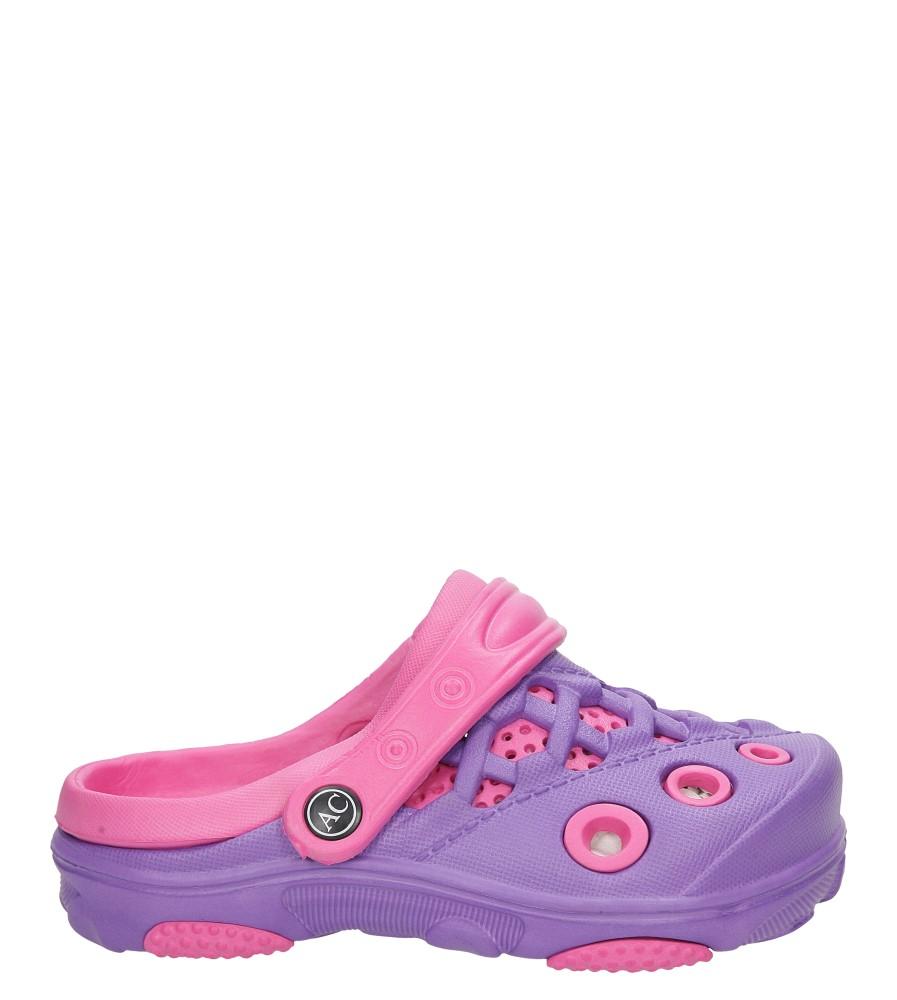 Dziecięce KLAPKI AMERICAN NH-S6132 fioletowy;różowy;