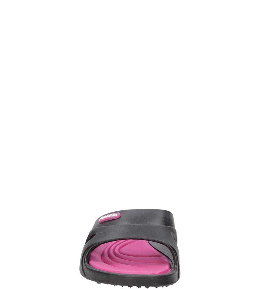 Dziecięce KLAPKI AMERICAN F-3060 czarny;różowy;