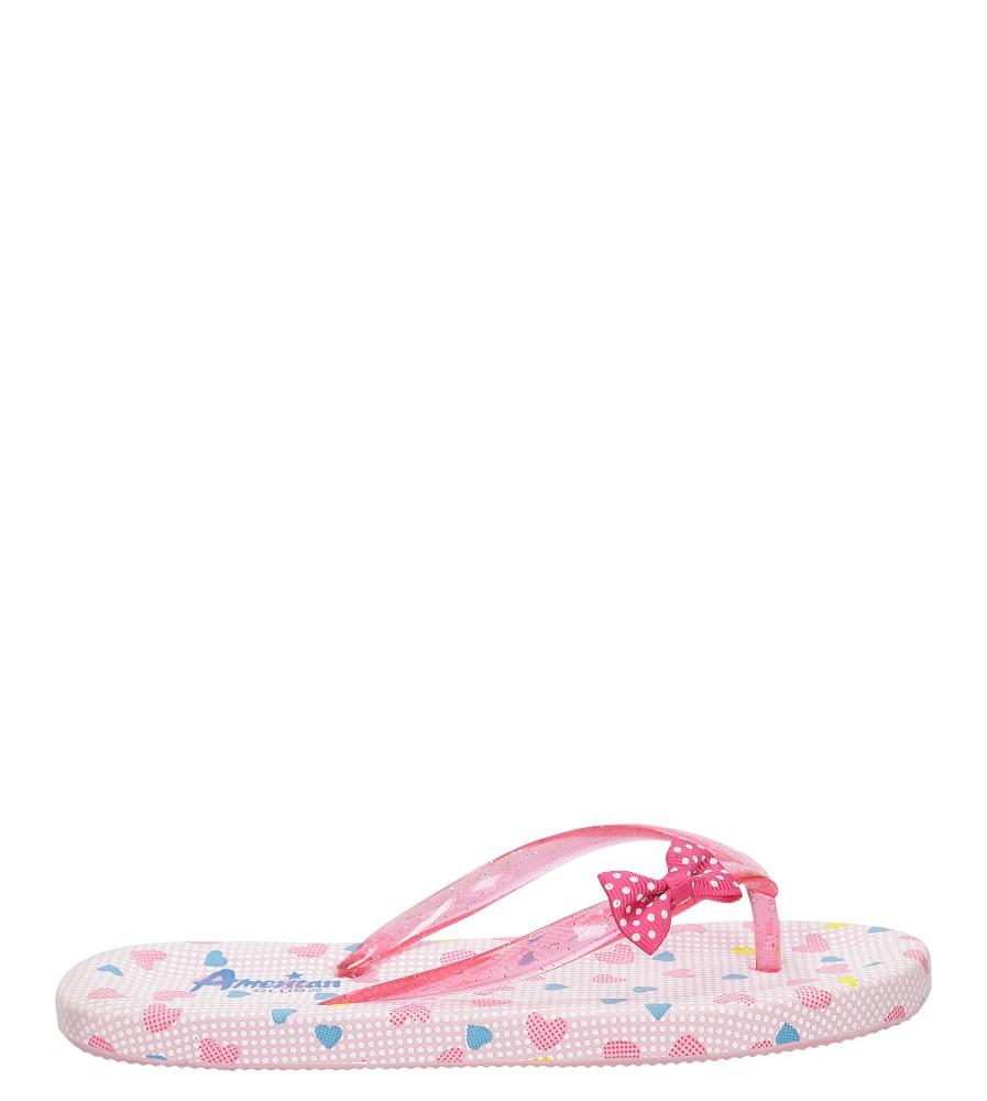 Dziecięce JAPONKI AMERICAN MC2012116 różowy;;