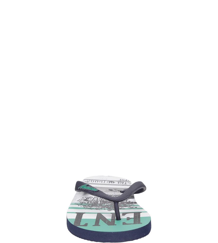 Męskie JAPONKI AMERICAN MH140630-1 niebieski;zielony;