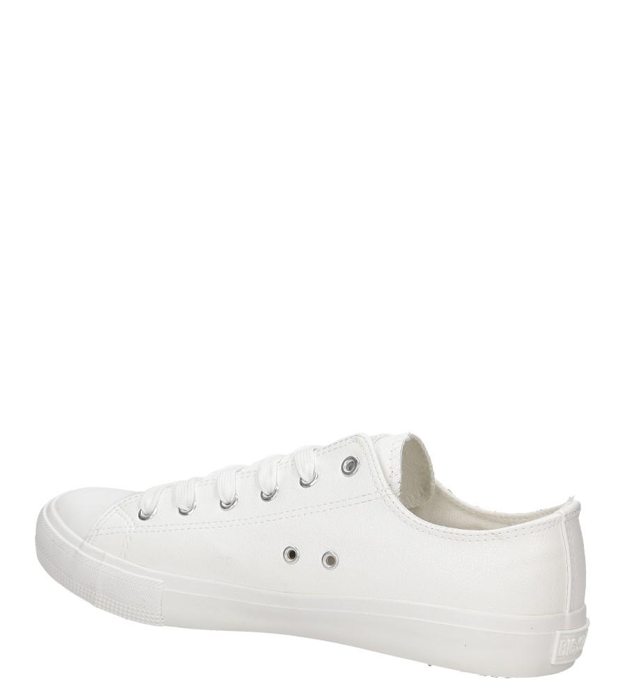 Męskie TRAMPKI BIG STAR V174347 biały;;