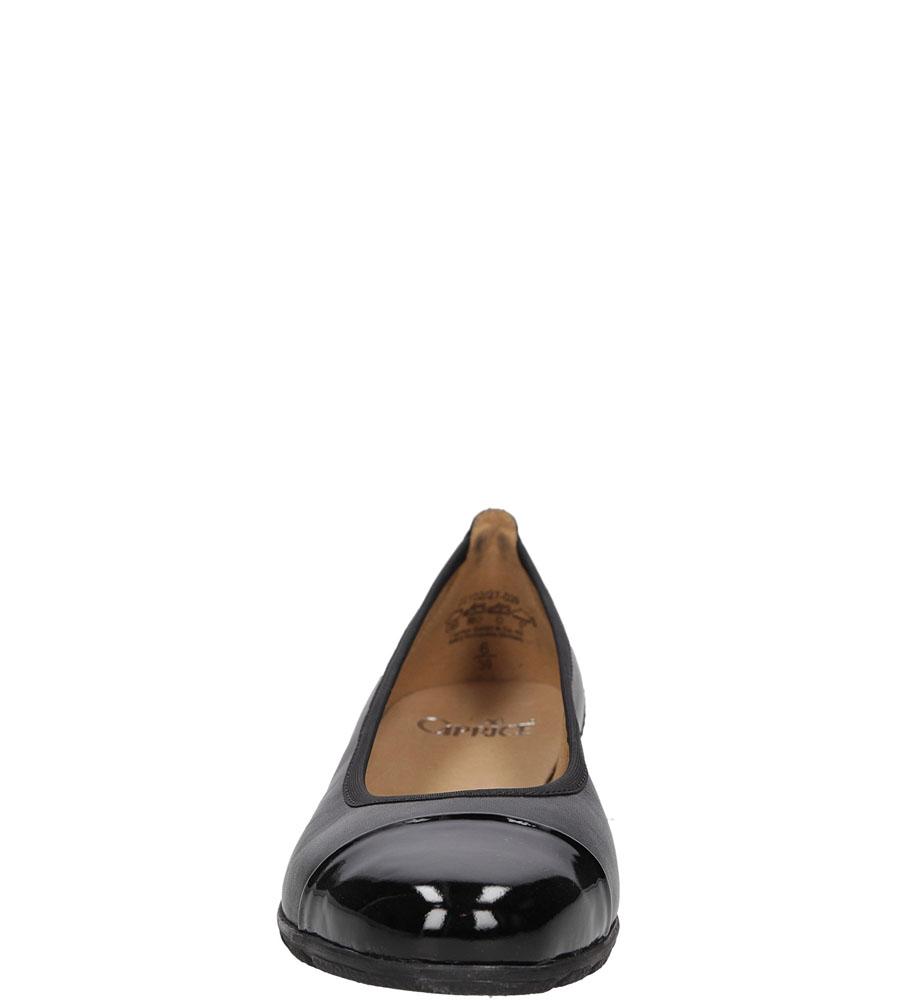 Damskie BALERINY CAPRICE 9-22102 czarny;;