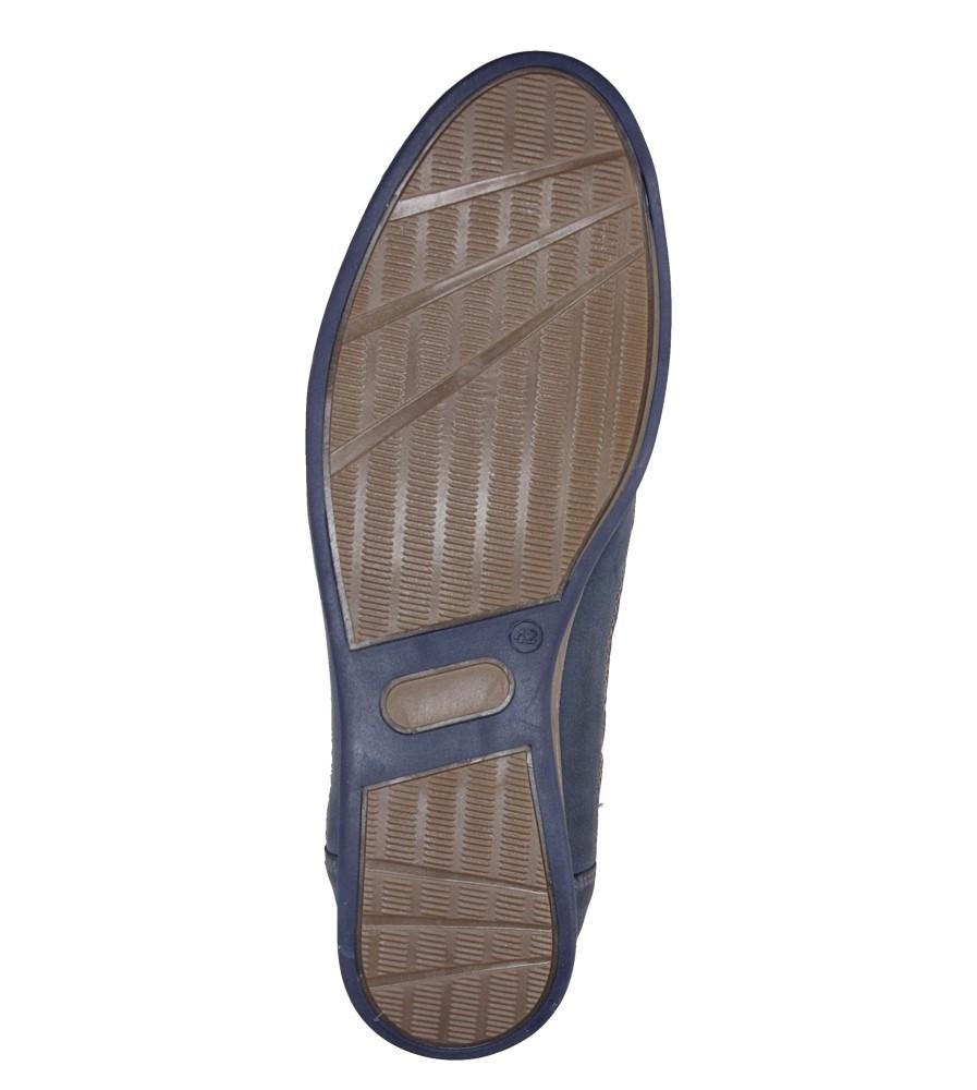 Półbuty skórzane Windssor 604 wys_calkowita_buta 12 cm