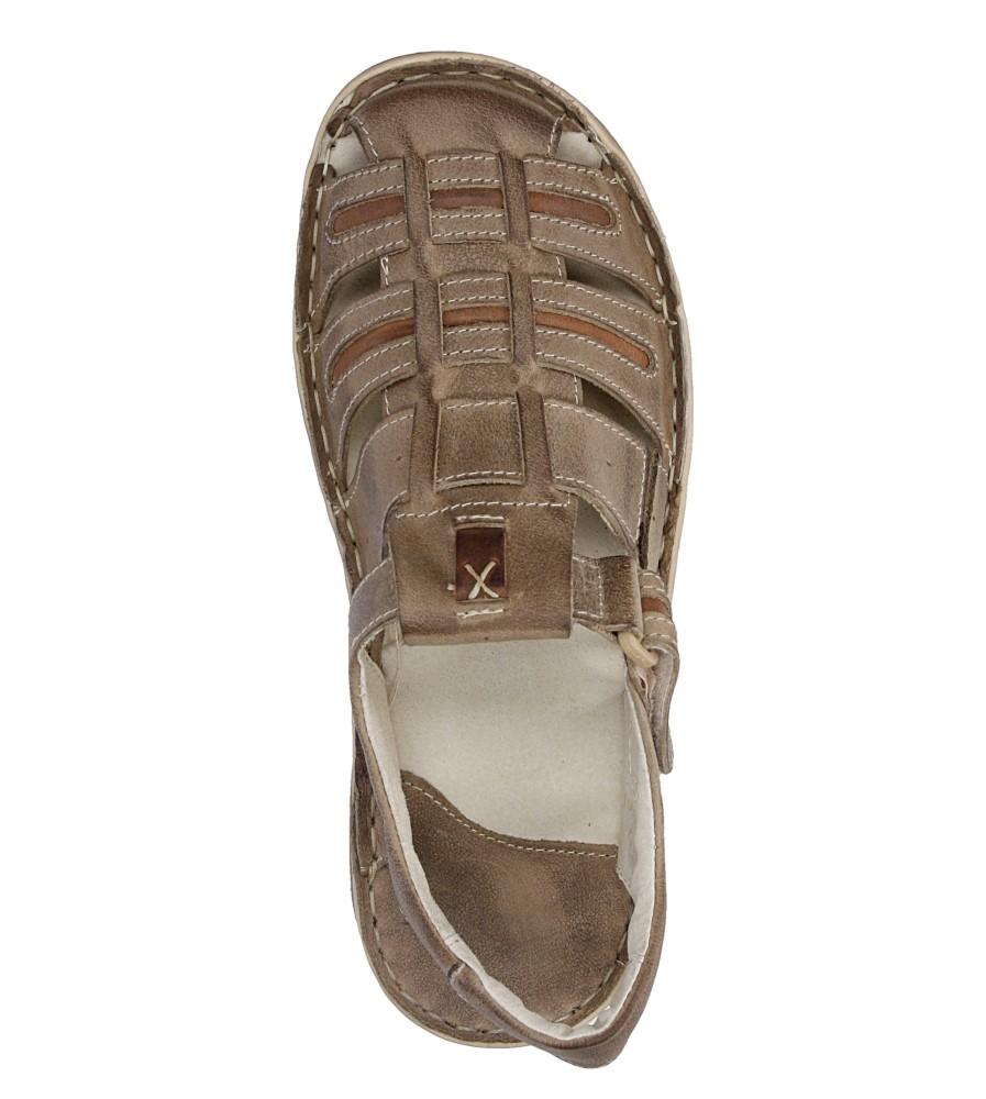 Sandały skórzane Windssor 230 wysokosc_platformy 3 cm