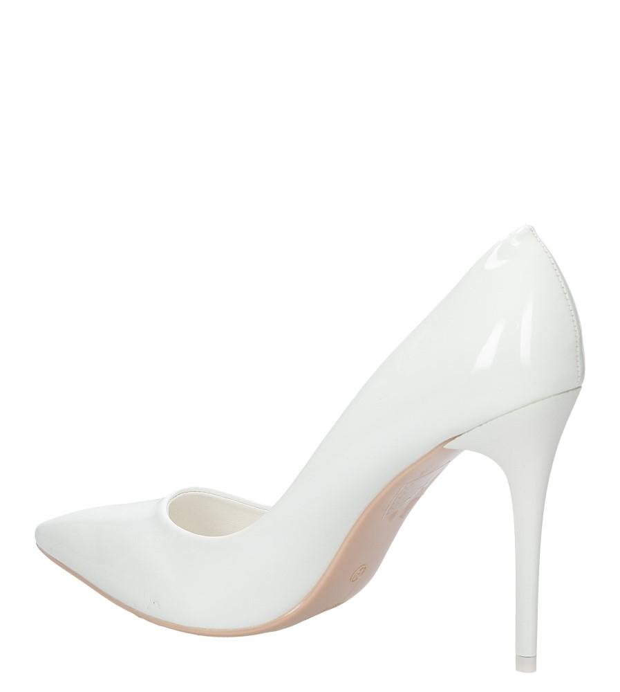 Damskie SZPILKI CASU G6231-5A biały;;