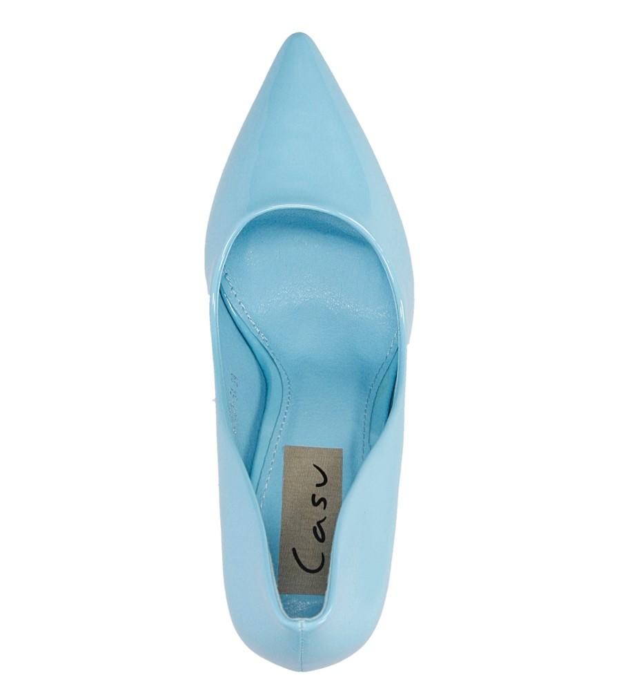 Damskie SZPILKI CASU G6231-5A niebieski;;
