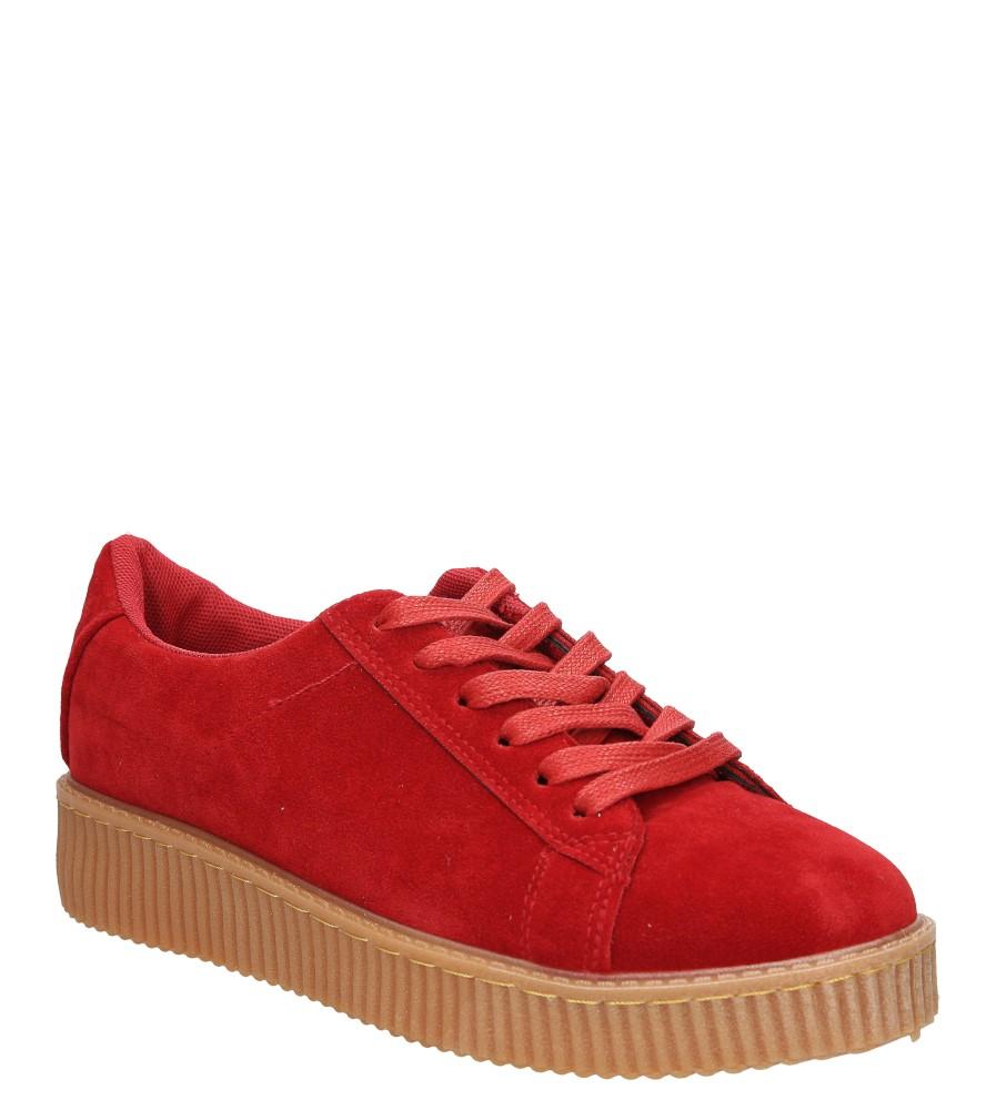 Damskie CREEPERSY CASU XY16293 czerwony;;