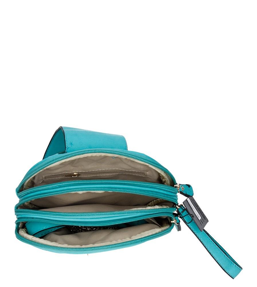 Damskie TOREBKA W-9924 niebieski;;