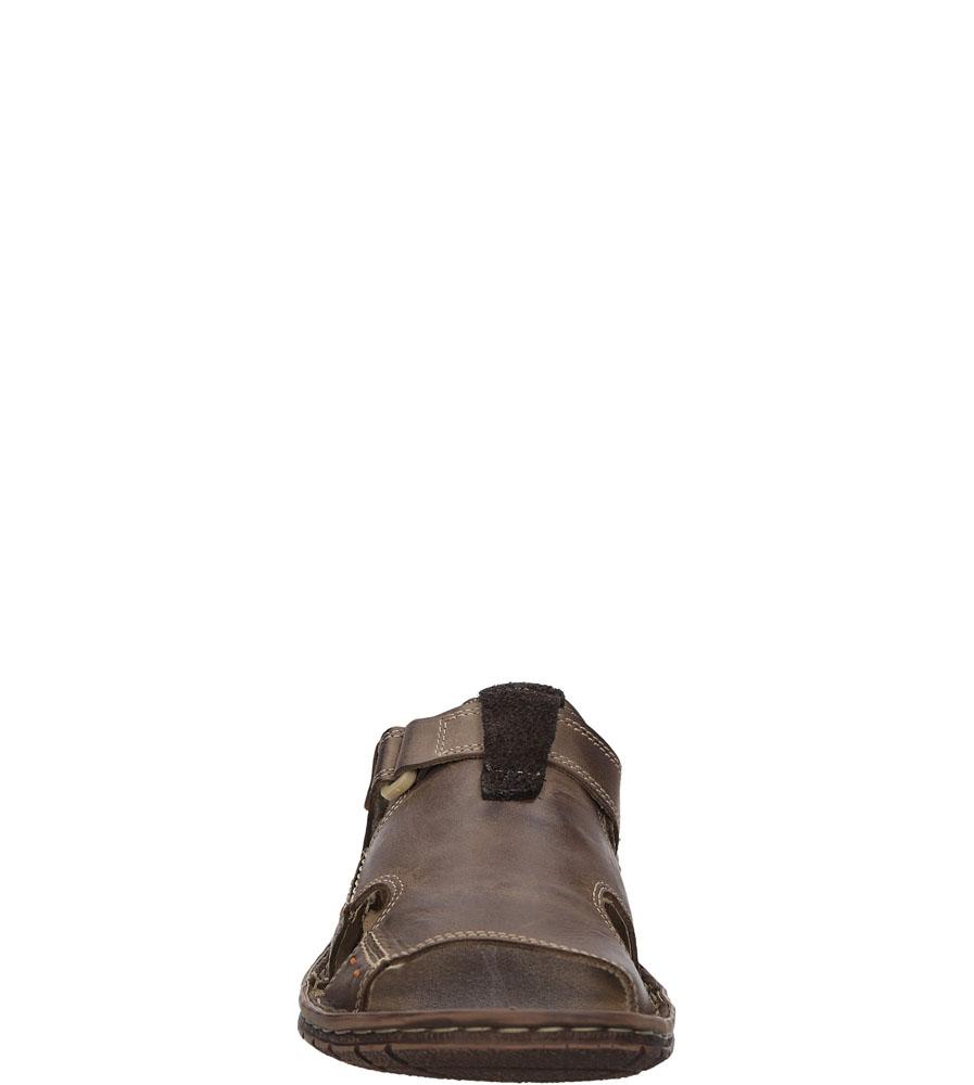Męskie KLAPKI WINDSSOR 508/B brązowy;;