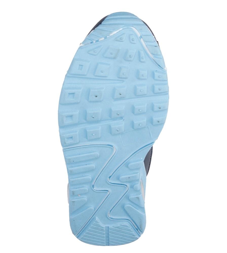 Damskie SPORTOWE CASU 7A-HG85537 niebieski;niebieski;