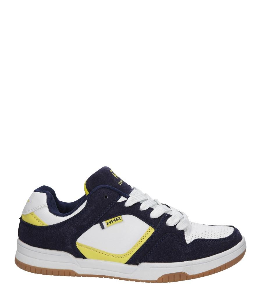 Męskie SPORTOWE CASU 7ACH-82754 biały;niebieski;żółty