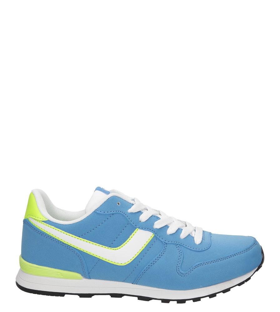 Damskie SPORTOWE CASU 7ACH-85700 niebieski;biały;zielony