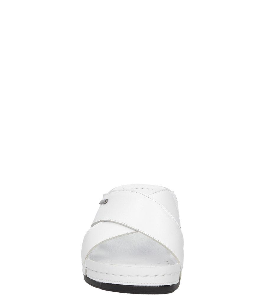 Damskie KLAPKI CASU 0409 biały;;