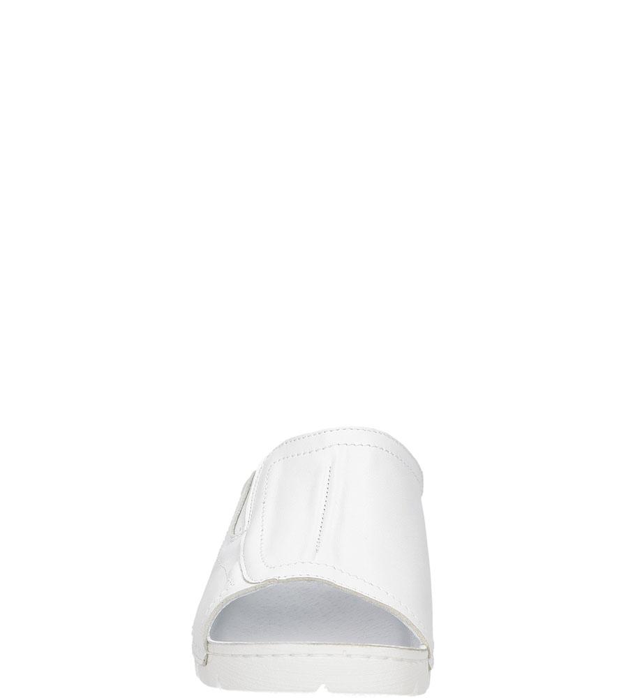 Damskie KLAPKI CASU 0382 biały;;