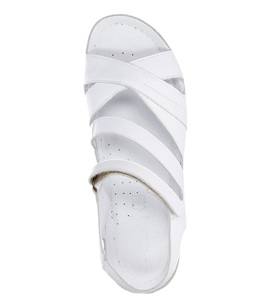 Damskie SANDAŁY CASU 0411 biały;;