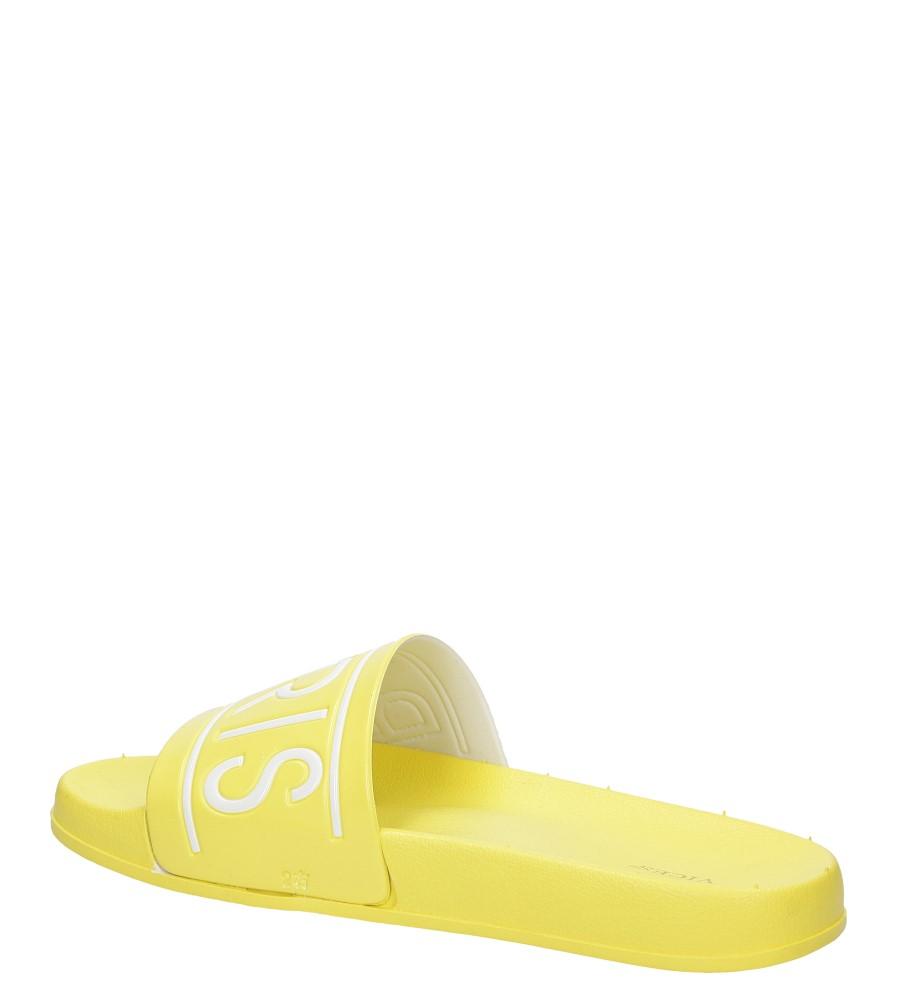 Damskie KLAPKI VICES S18 żółty;;