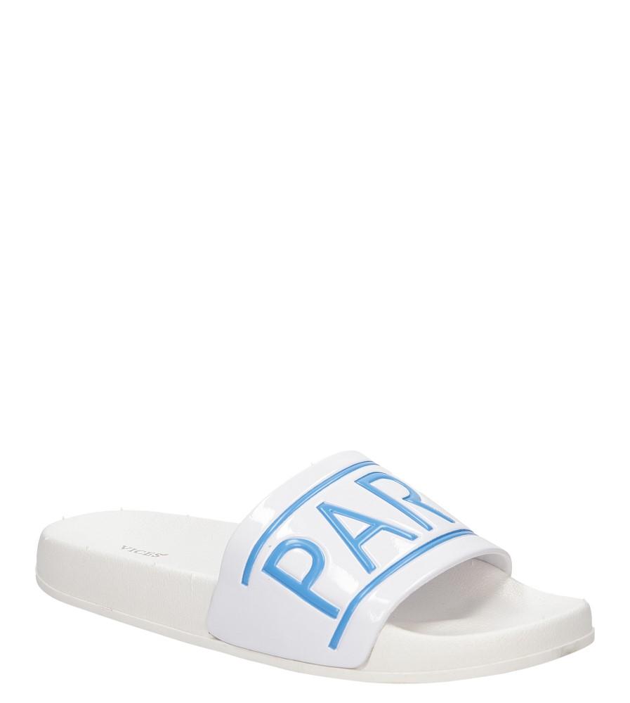 Damskie KLAPKI VICES S15 biały;niebieski;