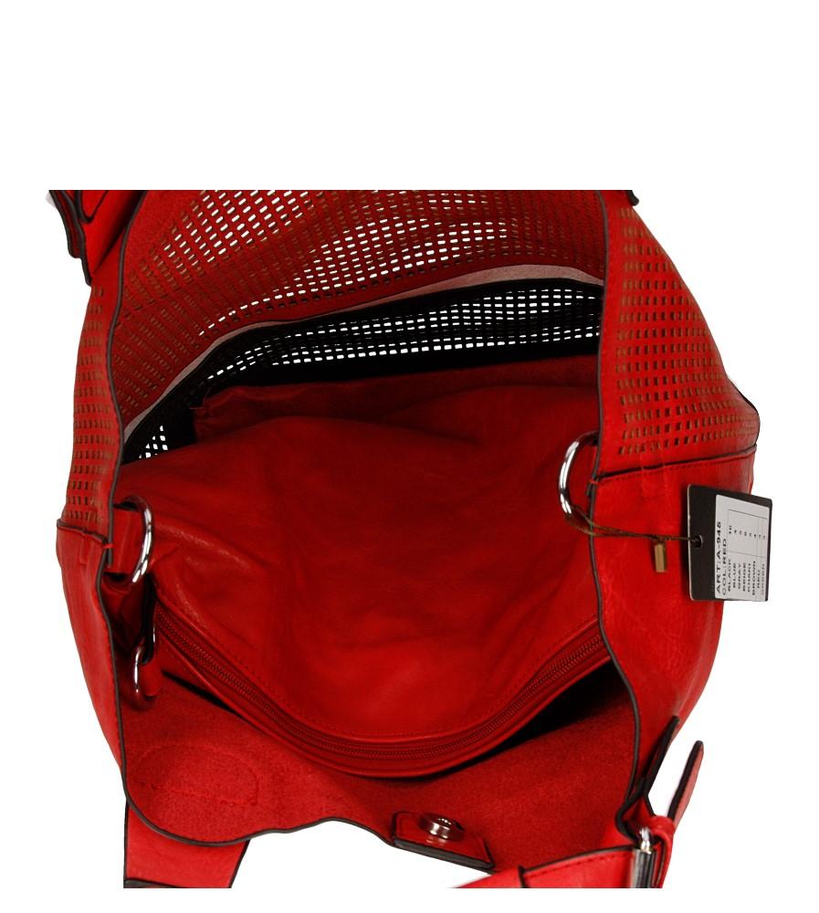 Damskie TOREBKA A-945 czerwony;;