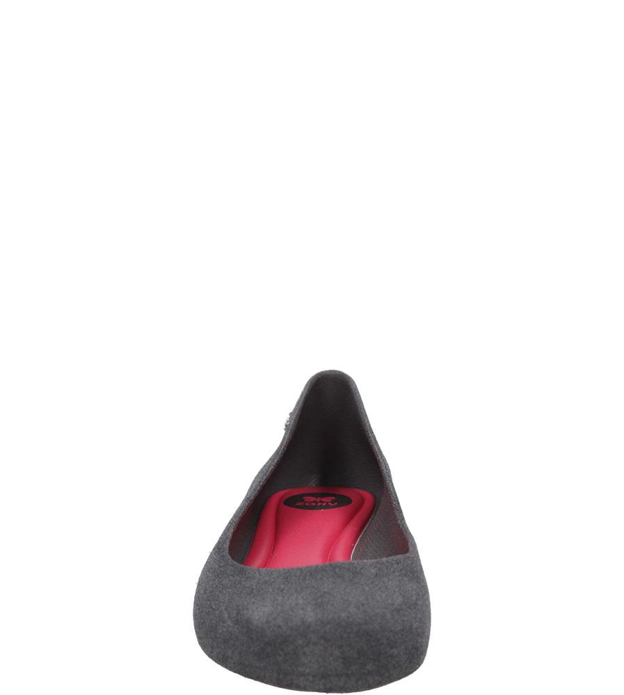 MELISKI ZAXY 82001 POP FLOCKED FEM kolor ciemny szary