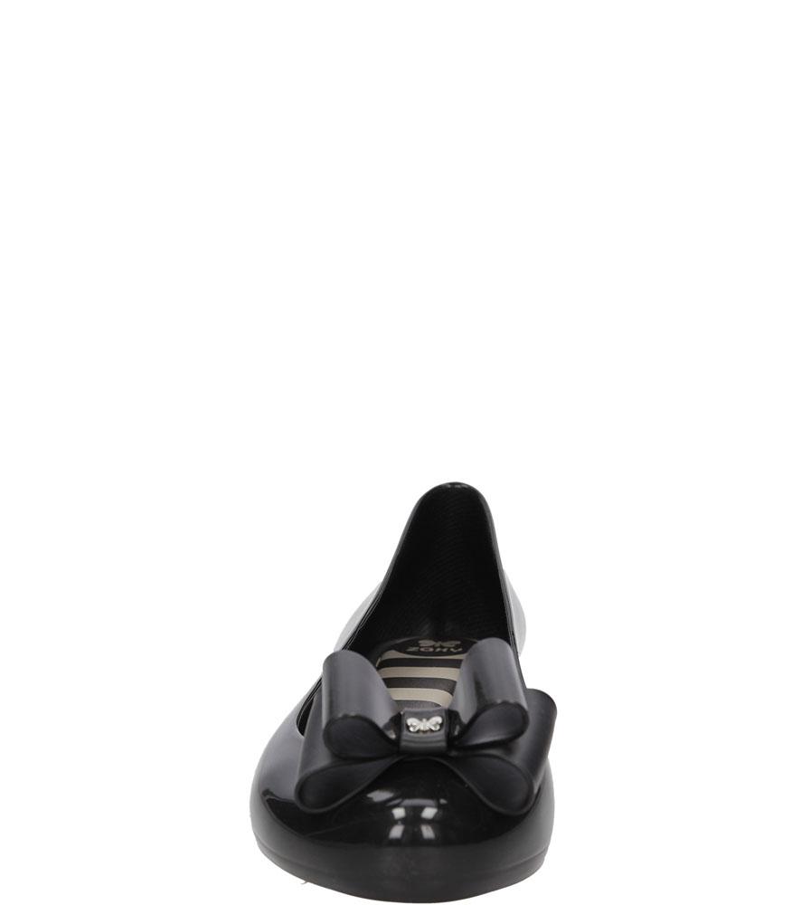 Meliski z kokardą Zaxy 81988 Pop Bow Fem kolor czarny