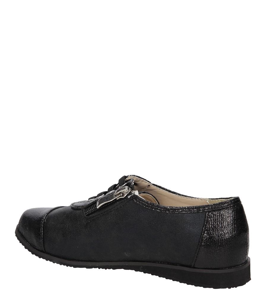 PÓLBUTY CASU 5LL-406 kolor czarny