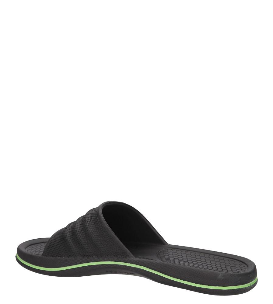 KLAPKI HASBY K811C kolor czarny, zielony