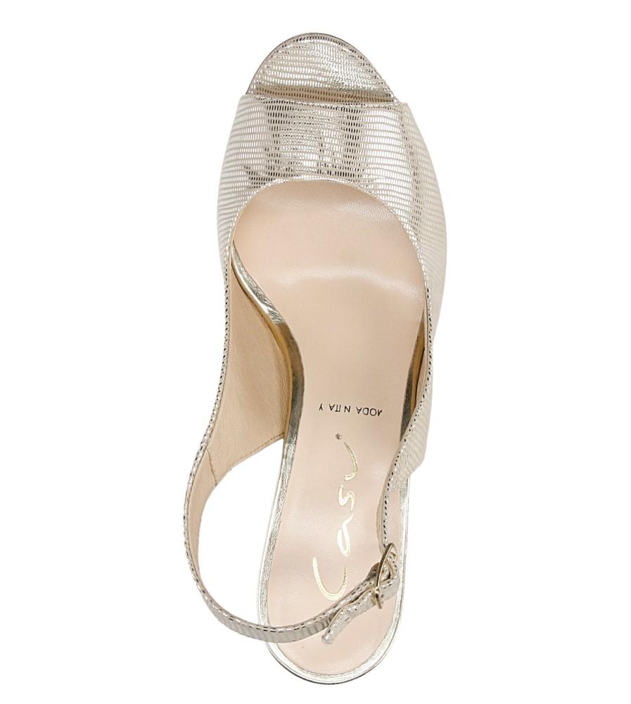 Sandały na słupku Casu 1387 wysokosc_obcasa 6 cm