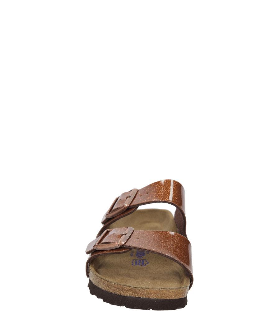 Damskie KLAPKI BIRKENSTOCK 0057643 brązowy;;