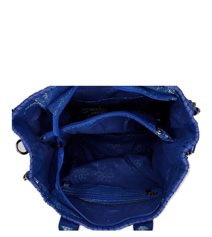 Damskie TOREBKA 3135-10D niebieski;;