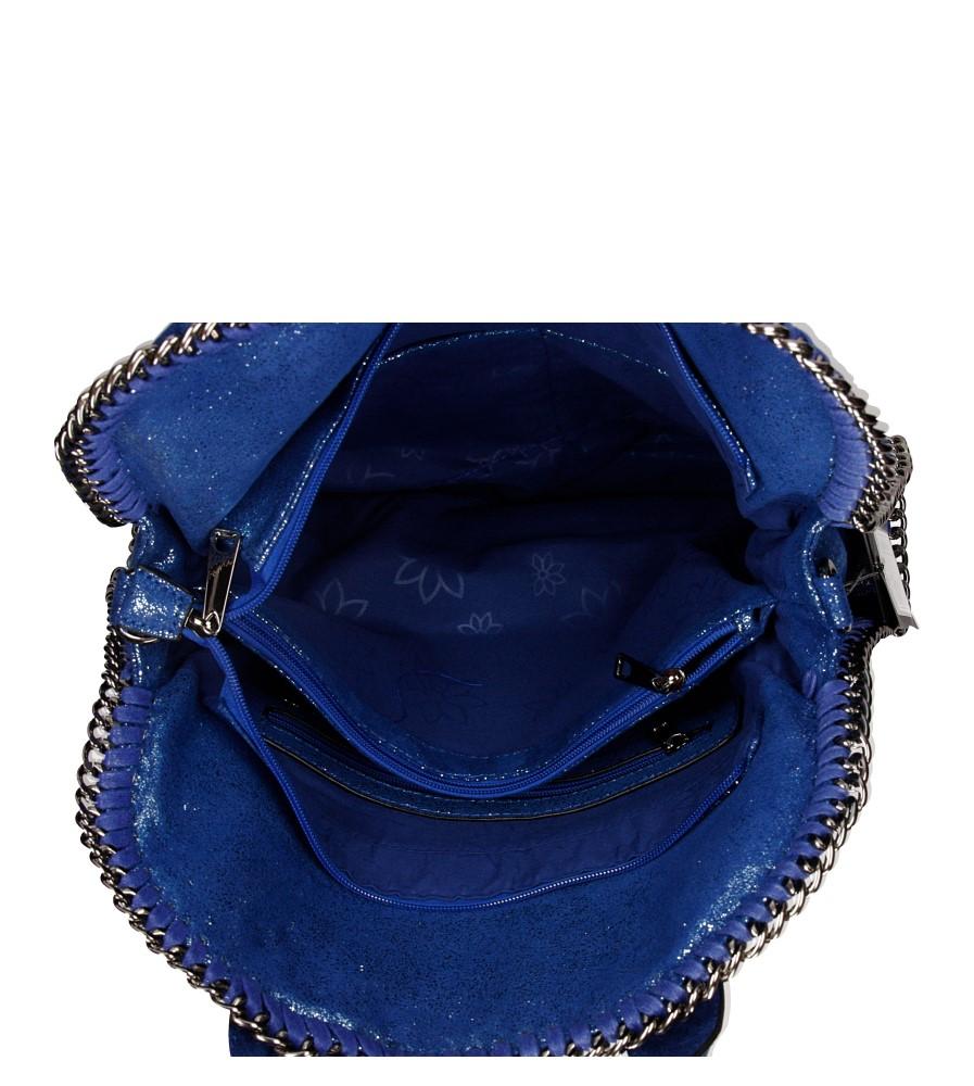 Damskie TOREBKA 3135-25D niebieski;;