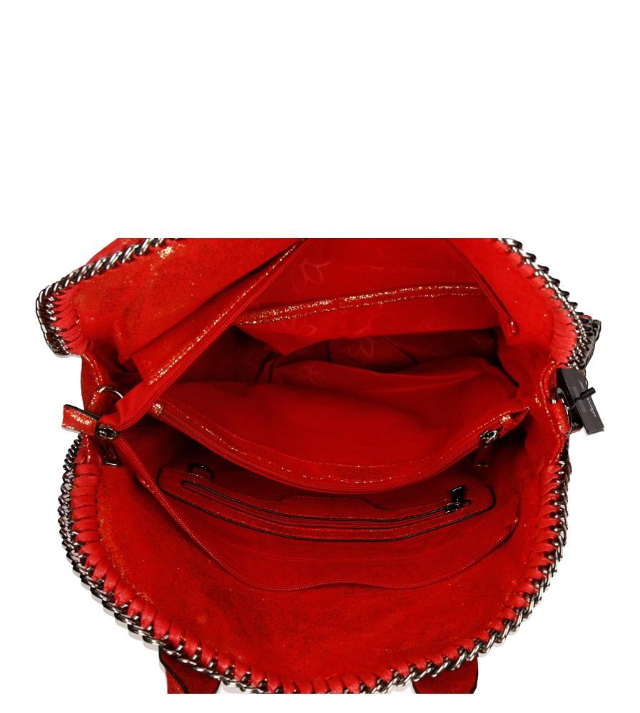 Damskie TOREBKA 3135-25D czerwony;;