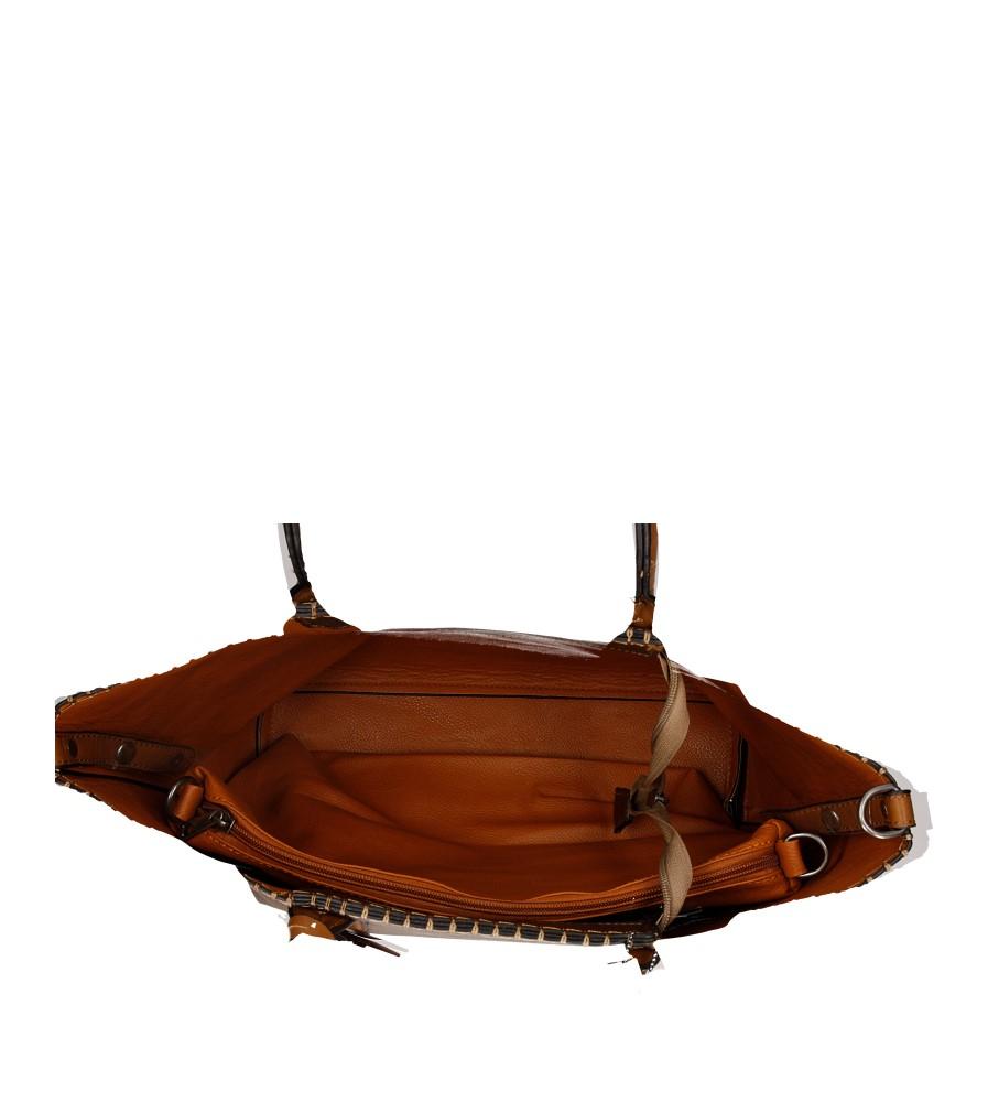 Damskie TOREBKA 8935-37E brązowy;;