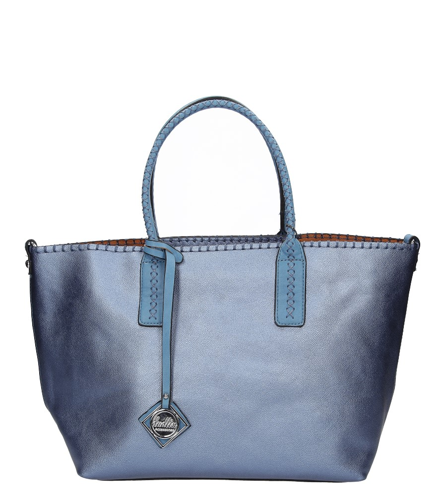 Damskie TOREBKA 8935-37E niebieski;;