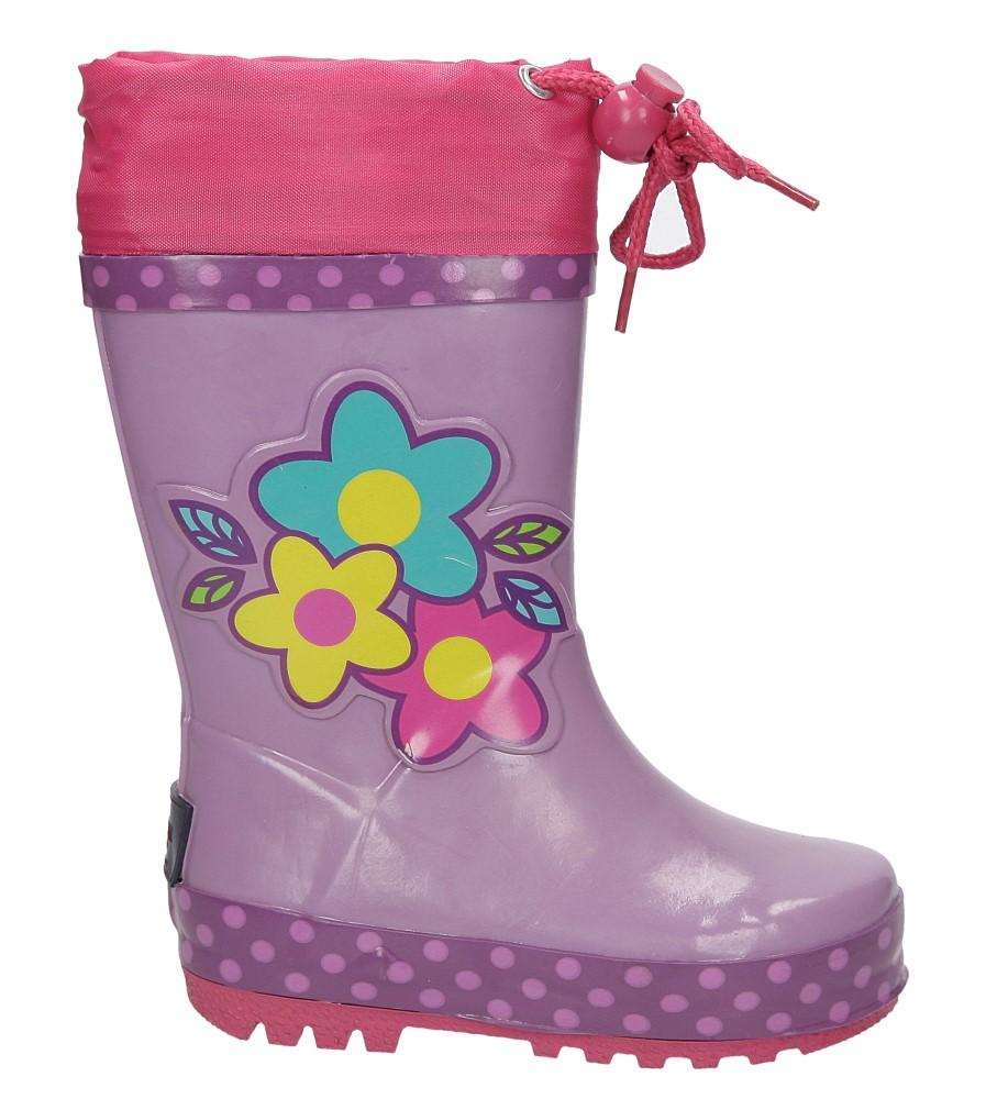 Dziecięce KALOSZE AMERICAN KAL-1C fioletowy;;