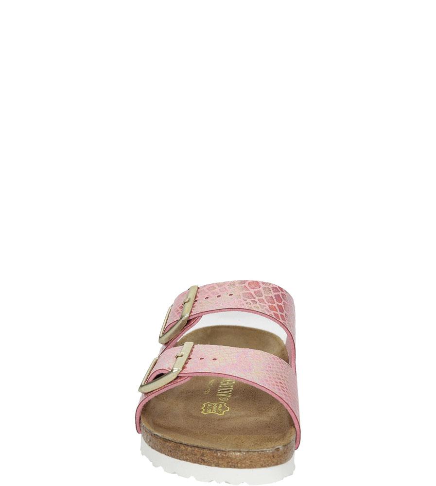 Damskie KLAPKI BIRKENSTOCK 0057613 różowy;;