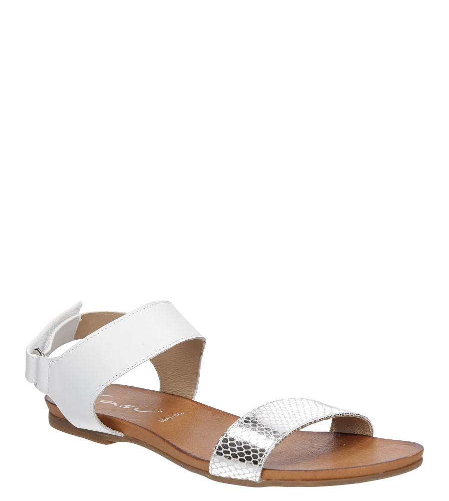Sandały skórzane Casu 1256 producent Casu