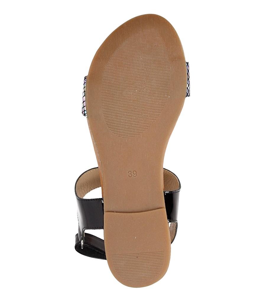 Sandały skórzane Casu 1256 wys_calkowita_buta 10 cm
