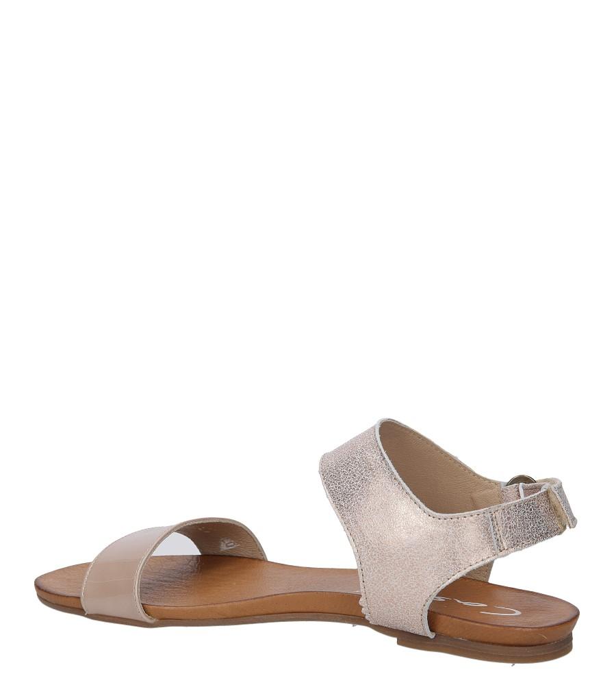 Sandały skórzane Casu 1256 wysokosc_obcasa 2 cm