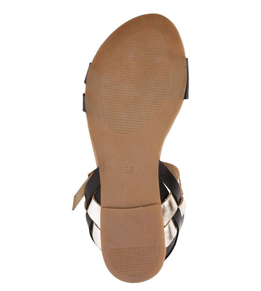 Sandały skórzane Casu 1456 wys_calkowita_buta 10 cm