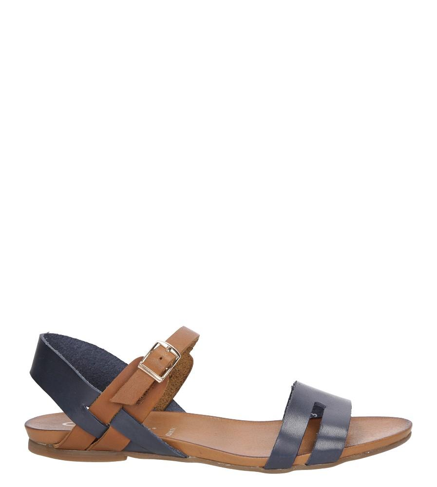 Sandały skórzane Casu 1456 model 1456