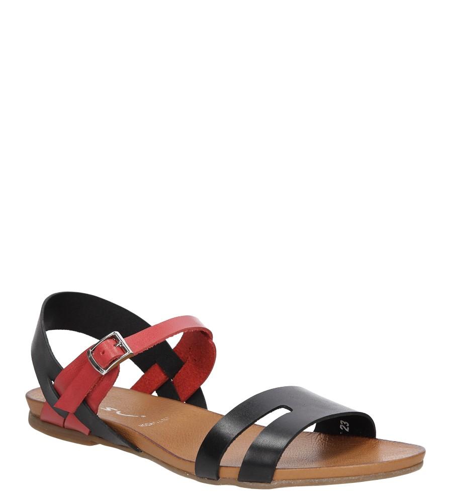 Sandały skórzane Casu 1456 producent Casu